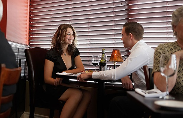 73% of women asked says it's unforgivable if a man does this on a first date…