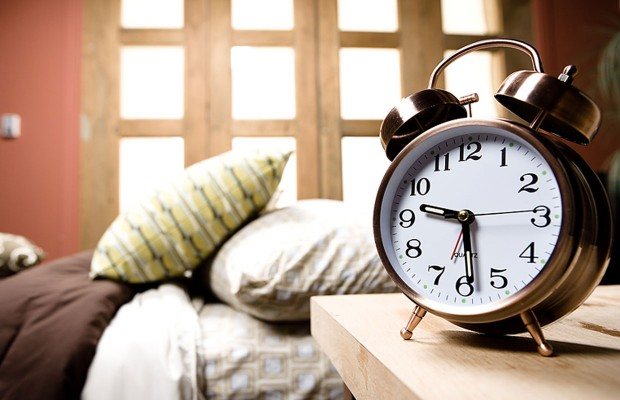What time is the average alarm clock set ro?