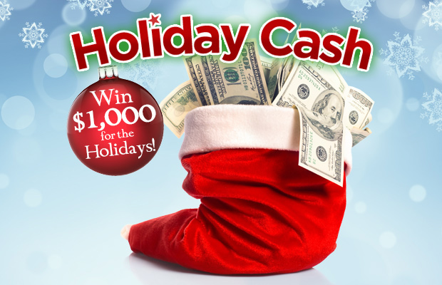 95.7 WZID's Holiday Cash Rules