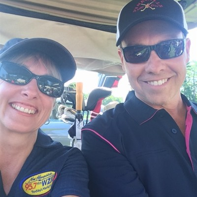 Neal and Tracy's First Time Golfing Together